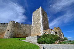 Portel castle, Portugal Royalty Free Stock Photography
