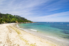 Portelet beach, Guernsey Royalty Free Stock Photo