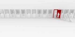 portelli illustrazione di stock