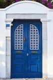 Portelli blu Fotografie Stock Libere da Diritti