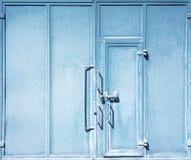Portelli blu fotografia stock libera da diritti