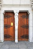 Portelli della basilica Fotografia Stock