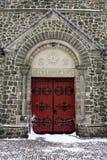 Portelli della chiesa fotografia stock