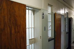 Portelli della prigione Immagine Stock Libera da Diritti