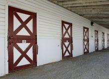 Portelli di granaio stabili del cavallo Immagine Stock Libera da Diritti