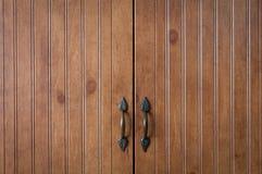 Portelli di legno Fotografia Stock