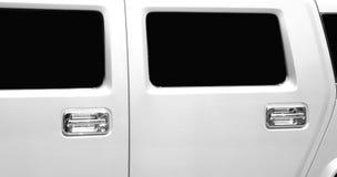 Portelli e finestre delle limousine Fotografie Stock Libere da Diritti