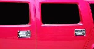 Portelli e finestre delle limousine Fotografia Stock