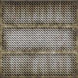 Portelli metallici pesanti Fotografie Stock Libere da Diritti