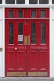 Portelli rossi Fotografie Stock Libere da Diritti