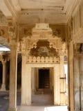 Portello antico del palazzo Fotografia Stock