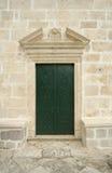 Portello antico della chiesa fotografia stock libera da diritti