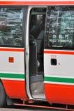 Portello aperto di mini bus Immagine Stock Libera da Diritti