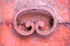 Portello arrugginito - frammento Fotografia Stock