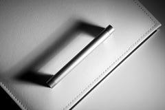 Portello bianco Fotografie Stock