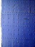 Portello blu fotografie stock