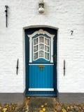 Portello blu Immagini Stock