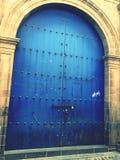 Portello blu Immagine Stock Libera da Diritti