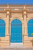 Portello classico del palazzo in Tailandia Fotografie Stock