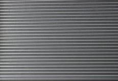 Portello d'acciaio rotolato dell'otturatore fotografia stock