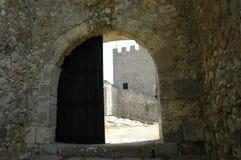 Portello del castello Fotografie Stock