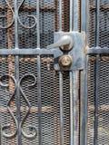 Portello del ferro saldato Immagini Stock Libere da Diritti