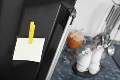 Portello del frigorifero fotografie stock libere da diritti
