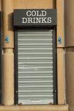 Portello delle bevande. Immagine Stock