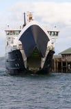 Portello di apertura del traghetto Immagini Stock