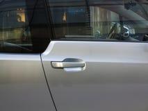 Portello di automobile con la maniglia Immagini Stock Libere da Diritti
