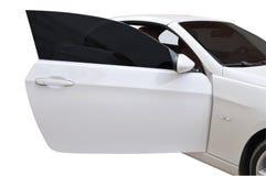 Portello di BMW 335i aperto Fotografia Stock Libera da Diritti