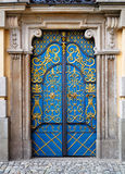 Portello di entrata alla costruzione dell'università, Wroclaw, Fotografie Stock Libere da Diritti