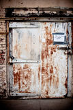 Portello di Grunge Fotografie Stock Libere da Diritti