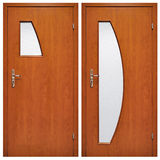 Portello di legno 03 Immagini Stock Libere da Diritti