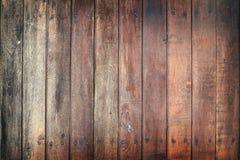 Portello di legno Immagini Stock