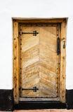 Portello di legno. Fotografia Stock