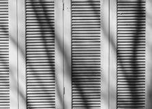 Portello di legno Immagine Stock