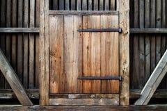 Portello di legno antico immagine stock libera da diritti