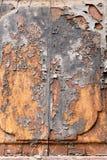 Portello di legno antico Fotografie Stock Libere da Diritti