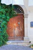 Portello di legno Cancellara La Basilicata L'Italia Fotografia Stock Libera da Diritti