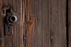 Portello di legno del granulo Fotografia Stock