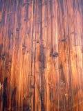 Portello di legno di stile dell'Asia Fotografie Stock