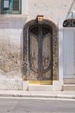 Portello di legno Fasano La Puglia L'Italia Fotografia Stock Libera da Diritti