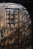 Portello di legno rustico fotografie stock libere da diritti