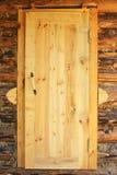 Portello di legno rustico. Fotografia Stock