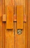 Portello di legno, Tailandia fotografie stock