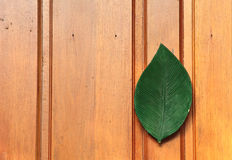 Portello di legno, Tailandia immagini stock