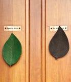 Portello di legno, Tailandia fotografia stock