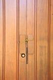 Portello di legno, Tailandia immagine stock libera da diritti