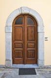 Portello di legno Viggianello La Basilicata L'Italia Immagini Stock